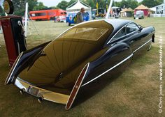 "CadZZilla-based on a 1948 Cadillac Series 62 Sedanette. It was built by Boyd Coddington and designed by Larry Ericson for ZZ Top's Billy Gibbons. A 23 foot long monster featured in ZZ Top videos as ""The Eliminator."""