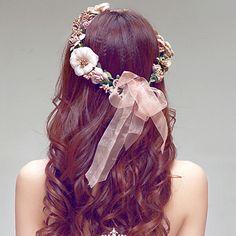 New Floral Flower Party Wedding Crown Hair Wreaths Headband Hair Band Garland SE #UnbrandedGeneric