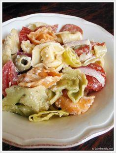 Tortellini Pasta Salad   Jam Hands