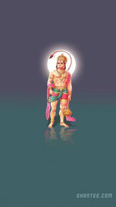 shri hanuman ji simple mobile wallpaper HD | 1920×1080