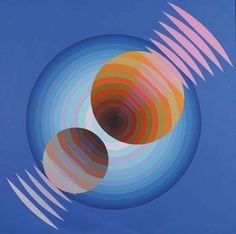 Cosmos N°2 - 1976. Argintinian Martha Boto (1922-2004) focussiedher work around the concepts of movement, illumination, and color, Boto explored the potential of materials that could modify, absorb, and reflect light, i.e. Plexiglas, aluminum, or stainless steel. I