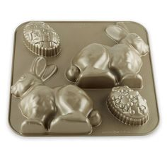 Nordic Ware Easter Bunny Bundt® Cake Pan, this is such a sweet bunny 3-D cake!  Williams- Sonoma