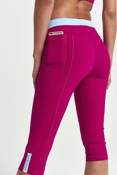 Create your own leggings with optional pockets secure enough for your phone. £116.
