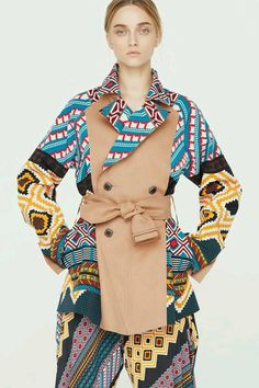 Pattern filled outfit !