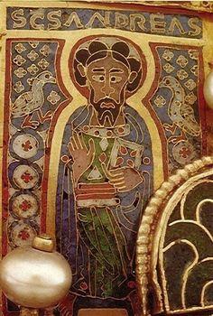 Szent András Email auf dem Bogen der Heiligen Ungarischen Krone