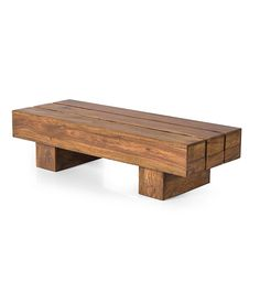 Super Sturdy Solid Wood Contrast Coffee Table!