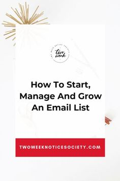 Learn how you can Start, Manage And Grow An Email List for your online business? Read my best email Email Marketing Strategy, Business Marketing, Content Marketing, Business Tips, Online Marketing, Online Business, Affiliate Marketing, Interactive Marketing, Make Money Blogging