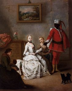 The Letter of the Moor by Pietro Longhi, c. 1751