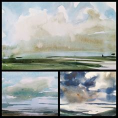 Wes Martin - Artist. A few watercolour sketches. Recent autumnal skies.  #watercolour #painting #watercolor #relaxing #uplate #inspirations #art #artexhibition #nature #callforart #artforsale #contemporaryart #instaartwork #artinfo  #artwork #follow #impressionism #vibrant #artist #instaartist #instaart #artforsale #cumbria #lancashire  #igerslancashire  #landscape #igerscumbria #english #wesmartinartist http://ift.tt/2dYRGNX October 13 2016 at 11:18AM