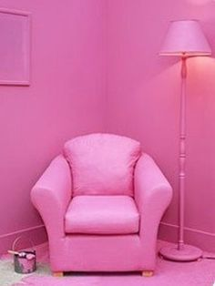 My house will be pink. All pink. Fuchsia, Pastel Pink, Pink Purple, Hot Pink, Bright Pink, Tout Rose, Rose Bonbon, Design Living Room, I Believe In Pink
