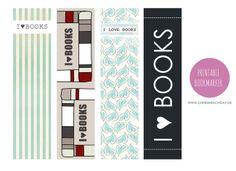 ♥ DIY: Printable Bookmarks/Lesezeichen