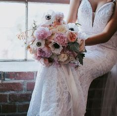 amazing pastel bridal bouquet