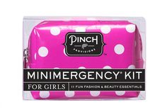 Minimergency® Kit for Girls – Come by The Inviting Place today and get these great gifts for girls!