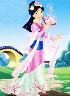 Mulan - the girl who saved China.