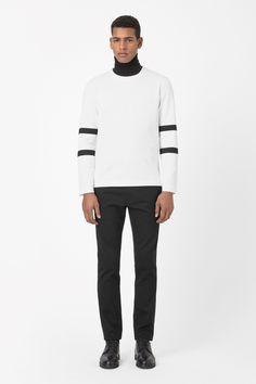 COS | Stripe sleeve top