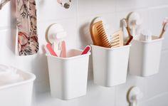 Novas maneiras de organizar a sua casa de banho