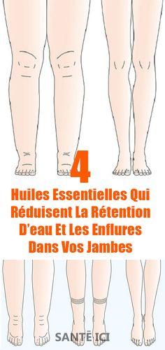 4 huiles essentielles qui réduisent la rétention d'eau et les enflures dans vos jambes