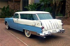 Classic Chevy Trucks, Classic Cars, My Dream Car, Dream Cars, Cool Car Pictures, Car Pics, Beach Wagon, Station Wagon Cars, Chevy Nomad