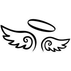 Wings Angel Come - Tribal Decal Vinyl Car Wall Laptop Cellphone Sticker