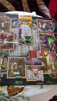 Play A Board Game - Cluedo