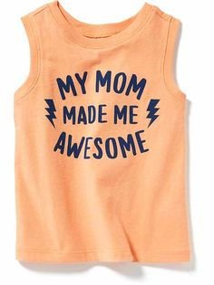 Todder Boys Clothes: Graphic T-Shirts Baby Quotes, Baby Sayings, Family Tees, Cool Graphic Tees, Kids Fashion Boy, Baby Disney, Big Boys, Baby Boy Outfits, Old Navy