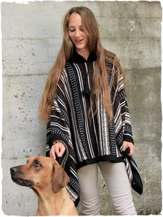 rectangular hooded knit poncho of alpaca wool with ethnic patterns Alpaca Poncho, Knitted Poncho, Alpaca Wool, Ethnic Patterns, Italian Style, Winter Outfits, Mexico, Plaid, Unisex