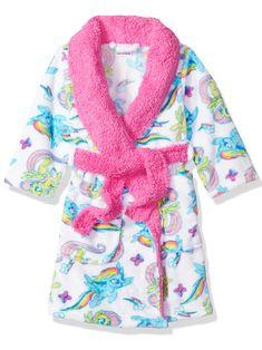 Komar Kids Boy/'s Camouflage Camo Luxe Fleece Bathrobe Robe