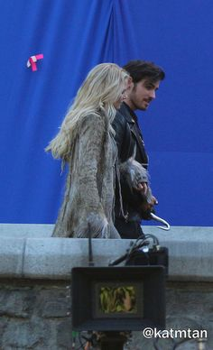 """Colin O'Donoghue and Jennifer Morrison - 5 * 1 """" Dark Swan"""" 14 July 2015 Captain Swan, Captain Hook, Best Tv Shows, Best Shows Ever, Dark Swan, Hook And Emma, Perfect Together, Outlaw Queen, Colin O'donoghue"""