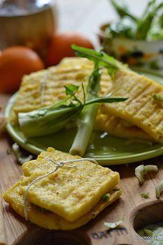 Toast di polenta