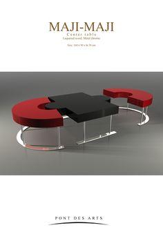 Maji-Maji-III- Metal Furniture, Table Furniture, Furniture Design, Modern Coffee Tables, Modern Chairs, Barrel Table, Floor Wallpaper, Multifunctional Furniture, Glass Dining Table
