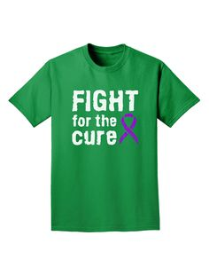 TooLoud Fight for The Cure Purple Ribbon Epilepsy Infant T-Shirt