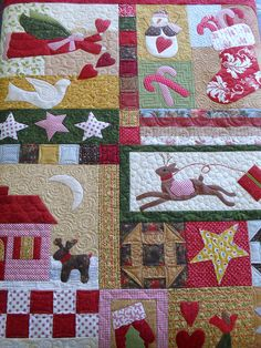 Everything Christmas by Jessica's Quilting Studio, via Flickr