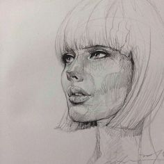 pencil drawings by Alvin Chong, #illustration