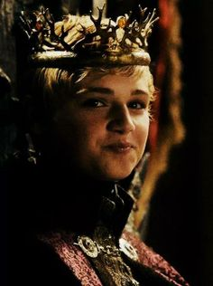 Game of Thrones season 4. King Tommen... I think he's kinda cute.... Even though he's like 10 lol. #oops