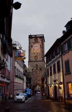 Clock towers and brass signs, half-timbered houses and cobblestone streets.  These are all characteristics of the gorgeous and charming French towns all around the country.  Click through to find out how you can visit some of these quaint villages on your next trip to France! ~ReflectionsEnroute