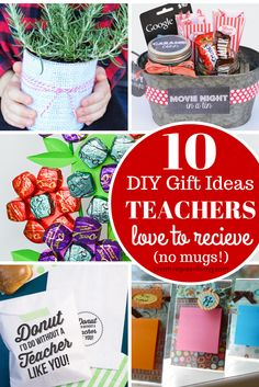 Gift ideas teachers actually want and will use. I love this list - especially number 5!