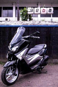 Yamaha N-Max Geba windshield