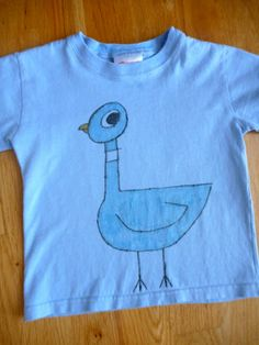 All This For Them: Pigeon T-Shirt so making this for mo-- we love mo williams obviously