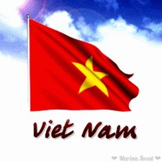 Animated flag of Vietnam