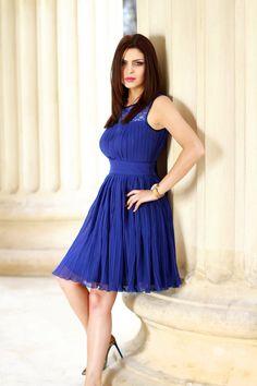 Choose some blue! Amazing dress by Black-Swan.ro