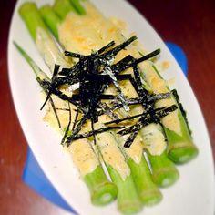 柚子胡椒が効いていて、ウマー☆ - 74件のもぐもぐ - オクラのマヨしょうゆ柚子胡椒 by misa5311