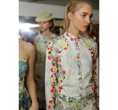 It's florals all the way this season for Erdem.