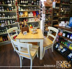 Marmalade Deli & Café in Exeter offers a wonderful selection of speciality cheeses, antipasti, cured meats and olives, plus pasta, local wines, pickles and, of course, marmalade Deli Cafe, Cafe Restaurant, Exeter, Marmalade, Olives, Devon, Pickles, England, Pasta