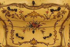 20th Century Lacquered and Gilded Commode 6