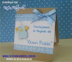 Resultado de imagen para tarjetas para baby shower niño