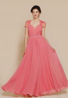 ava gown coral #bridesmaid #coral http://www.bellebridesmaid.com.au/product/ava/