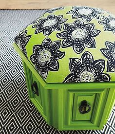 Click Pic for 50 DIY Home Decor Ideas on a Budget - Upcycled Pouf - DIY Crafts for the Home