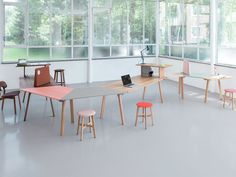 Rail is a minimal furniture collection created by Cologne-based designer kaschkasch.