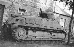 A captured French Somua S35
