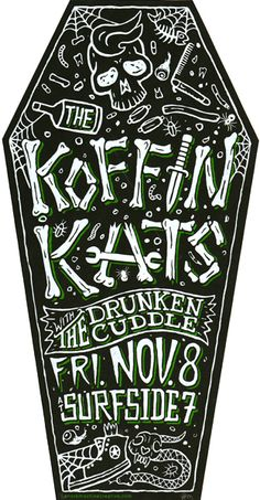 GigPosters.com - Koffin Kats, The - Drunken Cuddle, The